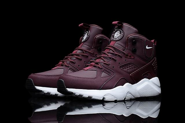 men Huarache X Acronym City MID Leather-001