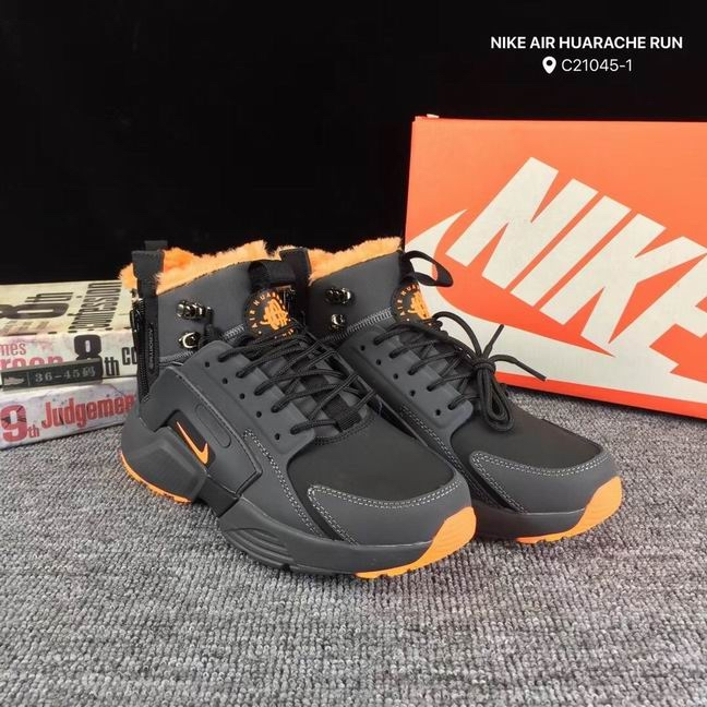 men Huarache X Acronym City MID Leather-010