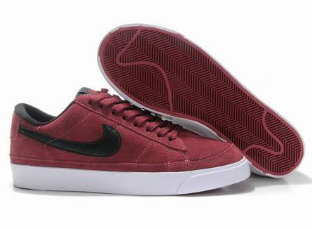 men Low Top Nike Blazers-024