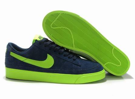 men Low Top Nike Blazers-025