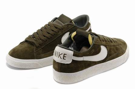 men Low Top Nike Blazers-034