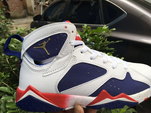 men air jordan 7 retro Olympic shoes-001
