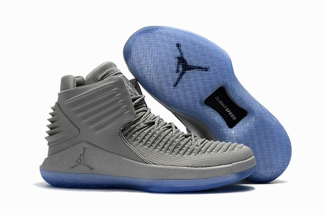 men jordan XXXII high top shoes-003