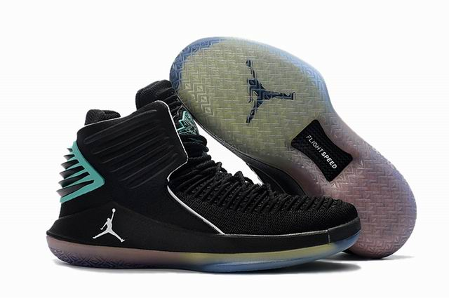men jordan XXXII high top shoes-006