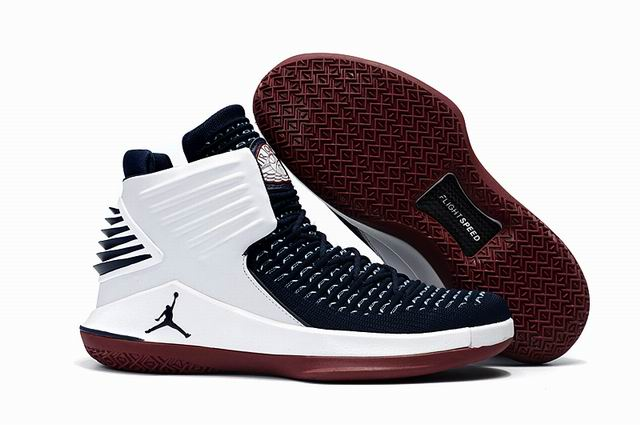 men jordan XXXII high top shoes-016