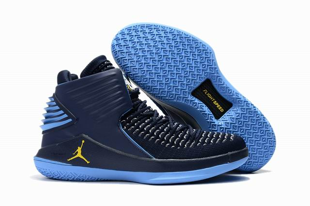 men jordan XXXII high top shoes-018