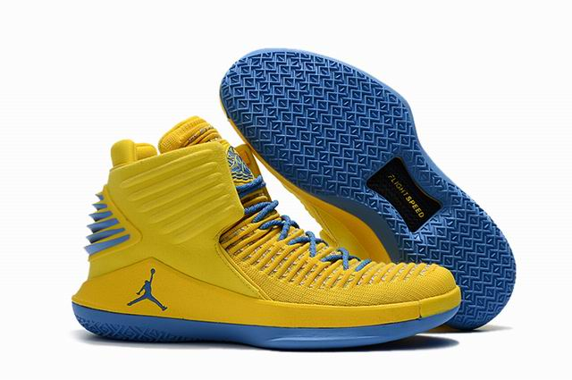 men jordan XXXII high top shoes-021