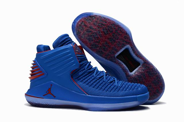 men jordan XXXII high top shoes-022