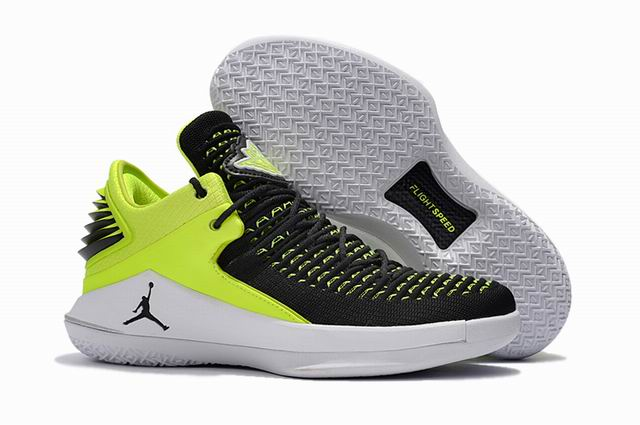 men jordan XXXII low top shoes-005