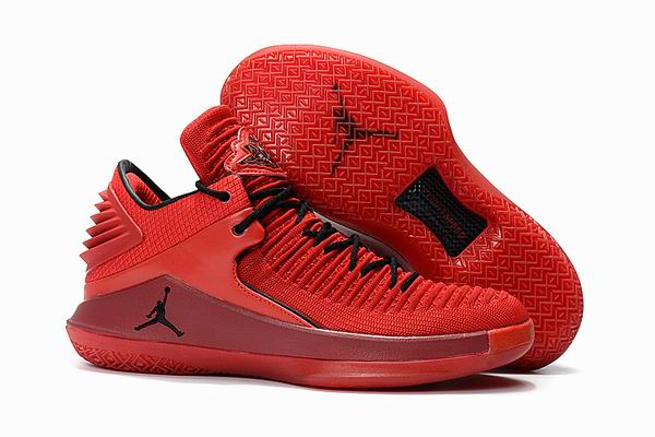 men jordan XXXII low top shoes-012