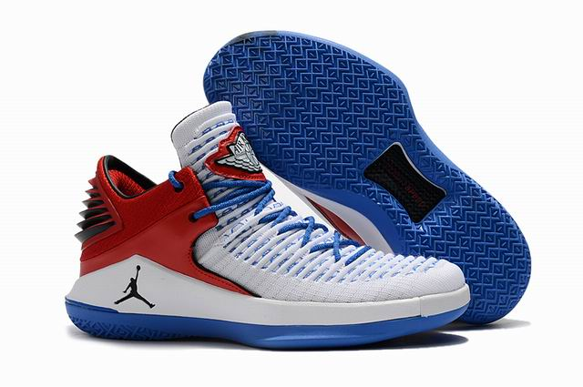 men jordan XXXII low top shoes-014