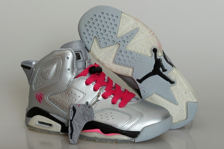 women GS air jordan 6 shoes 543390-002