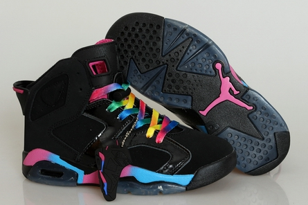 women GS air jordan 6 shoes 543390-006